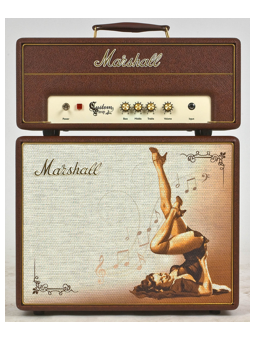 Marshall Greta C5 Custom Shop Head & Cab